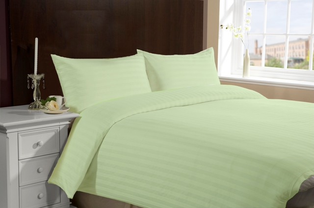 Twin Size Hotel Collection 4-Piece Bedding Sets - Green