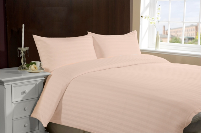 Twin Size Hotel Collection 3-Piece Bedding Sets - Peach