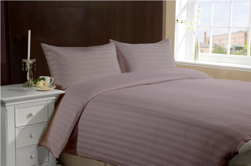 Twin Size Hotel Collection 3-Piece Bedding Sets - Purple