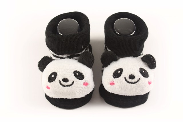 Lasin Baby Boy Cartoon Anti-slip Socks - Panda (0-12M)