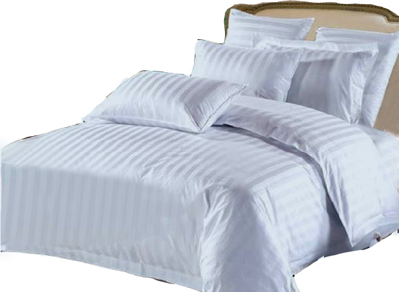 King Hotel Collection 7-Piece Bedding Sets – Blue - Click Image to Close