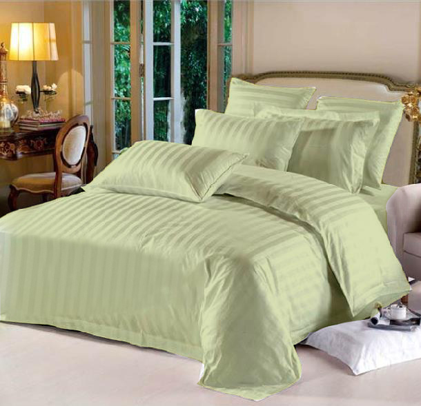 King Hotel Collection 7-Piece Bedding Sets – Green
