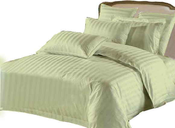 Twin Hotel Collection 6-Piece Bedding Sets - Green - Click Image to Close