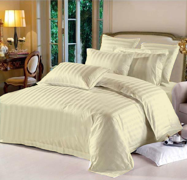 Cal-King Hotel Collection 6-Piece Bedding Sets – Ivory