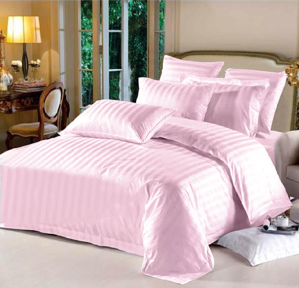 Full Hotel Collection 7-Piece Bedding Sets – Pink