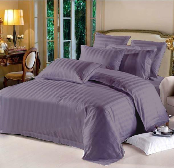 Queen Hotel Collection 6-Piece Bedding Sets – Purple