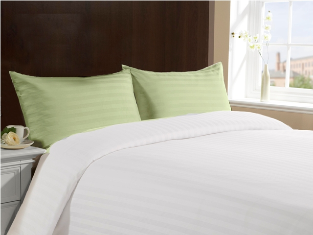 Standard Size 100% Cotton Pillow Cases - Green